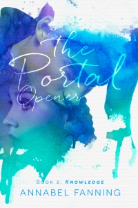 THE PORTAL OPENER KNOWLEDGE ANNABEL FANNING BARNES AND NOBLE EBOOK COVER